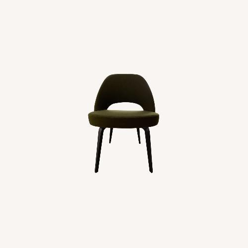Used Saarinen Executive Ebonized Walnut Chairs for sale on AptDeco