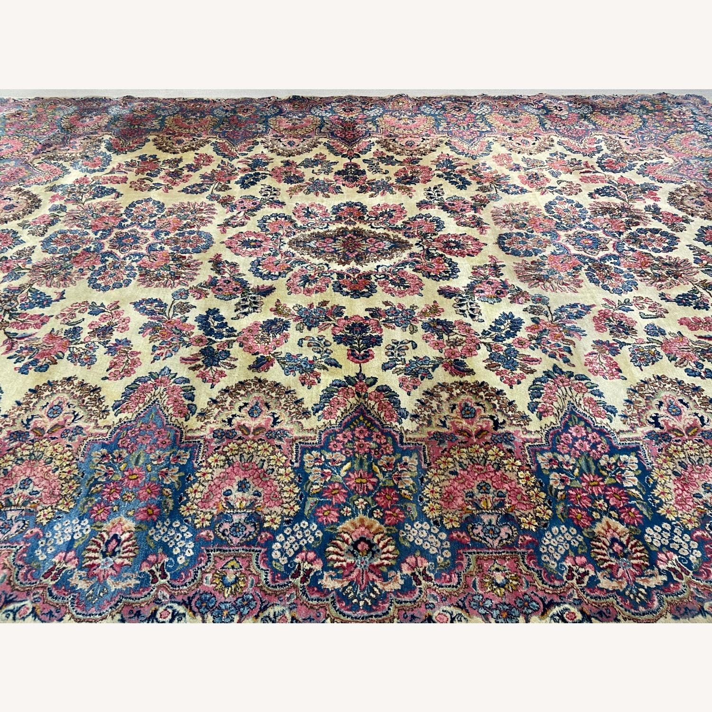Handcrafted Kerman Area Rug 10' x 14' - image-2