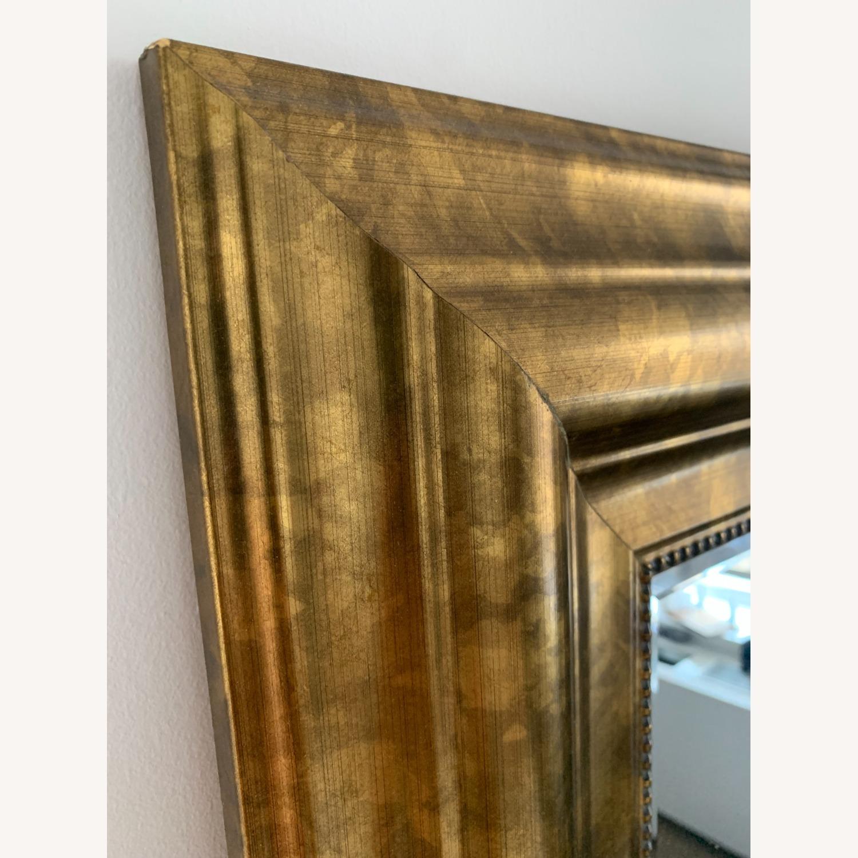 Original Vintage Brass Mirror - image-2