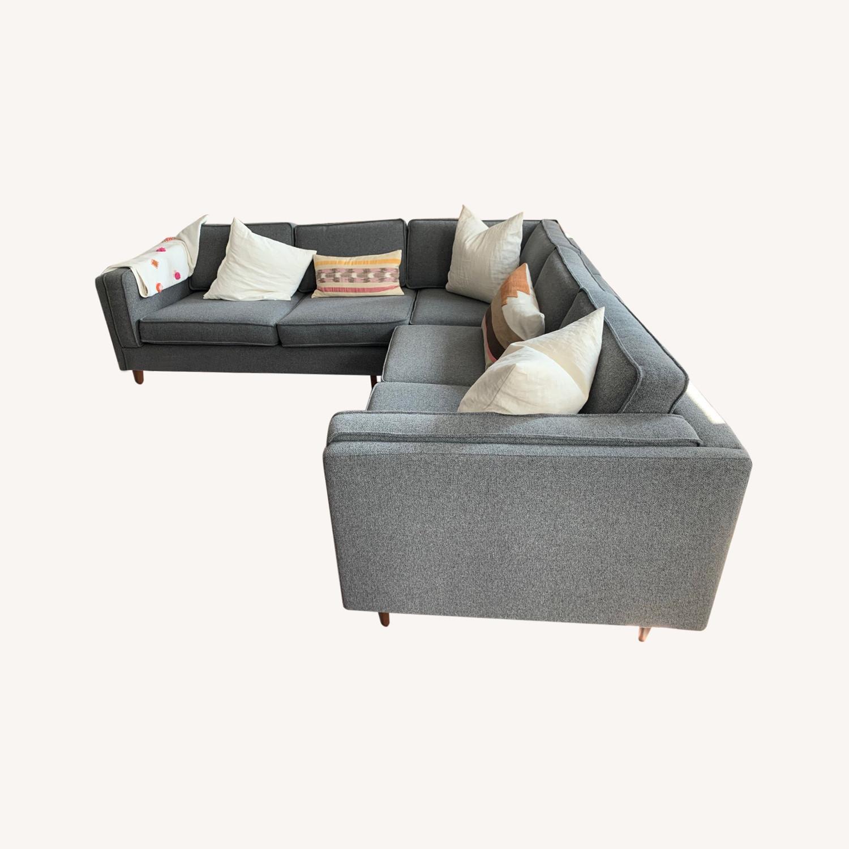 Gus Modern Sectional Sofa - image-0