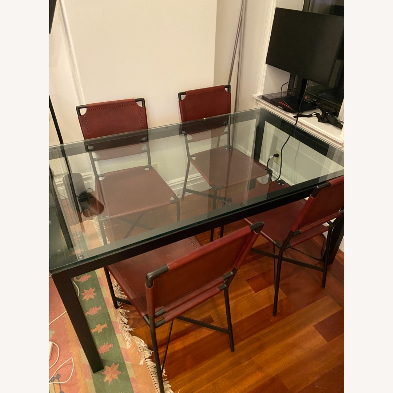 Crate & Barrel Dining Table Glass - image-2