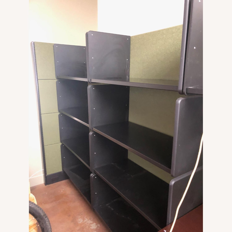 Herman Miller Ethospace Desk and Bookshelves - image-4