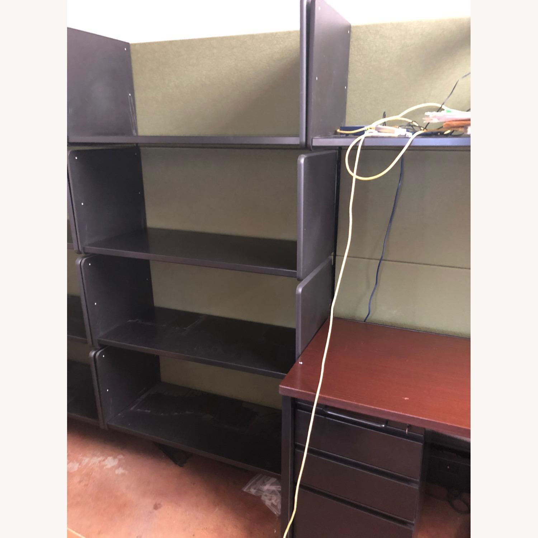 Herman Miller Ethospace Desk and Bookshelves - image-3