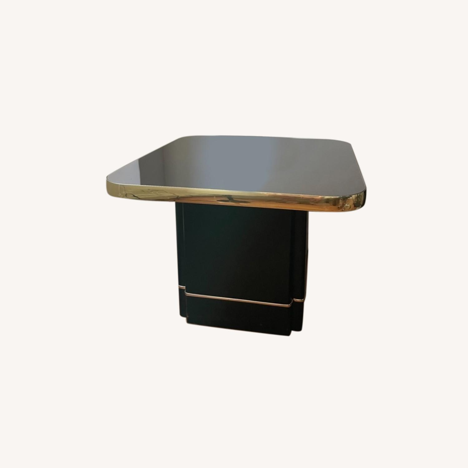 Black and Gold Coffee Table - image-0