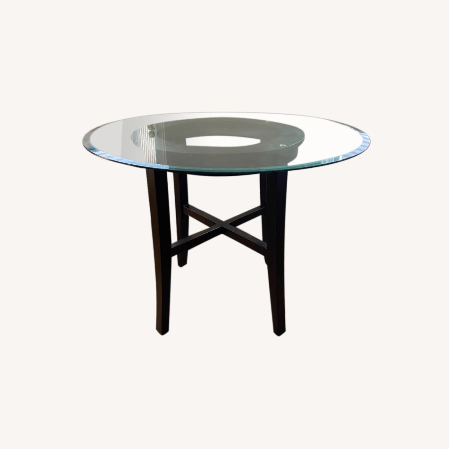 42 Glass Table - 2 Pieces - image-0