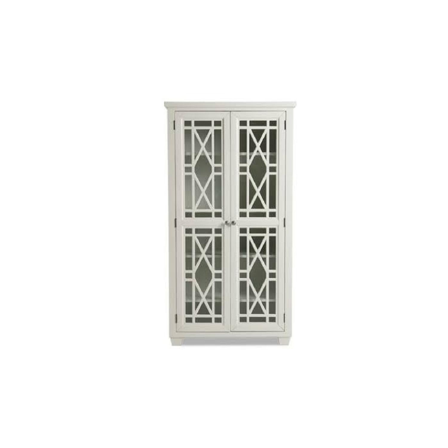 Bob's Discount Lacy Tall 2DR Cabinet Farm House Stlye - image-0