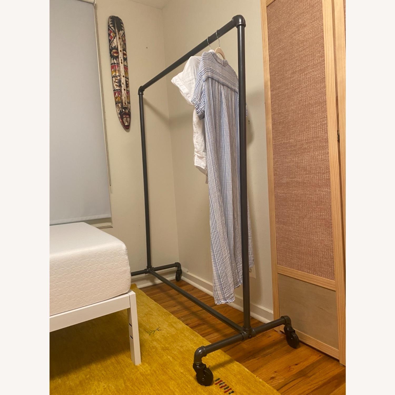 Wayfair Rolling Garment Rack - image-2