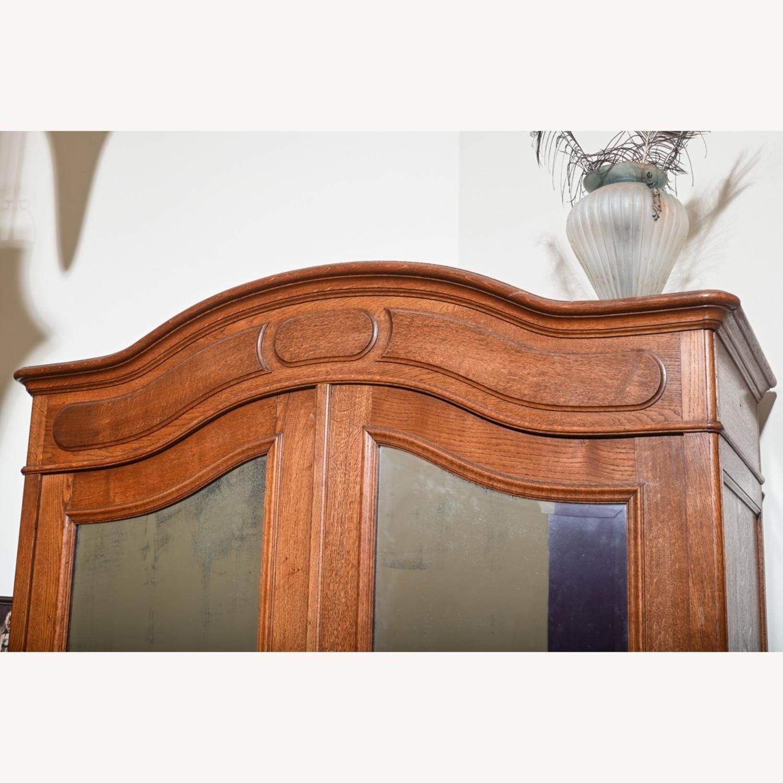 Antique Oak Armoire - image-3