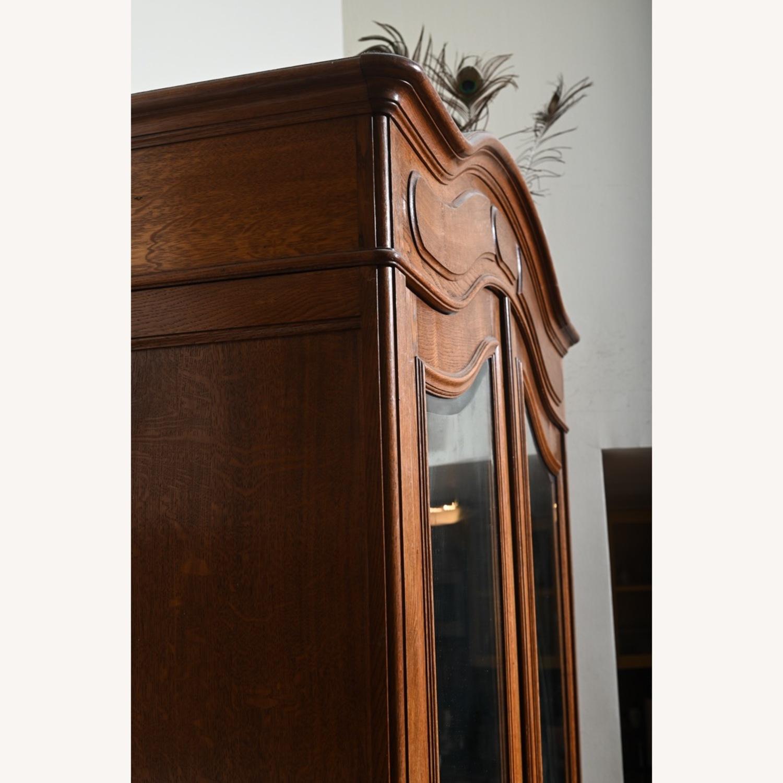Antique Oak Armoire - image-2
