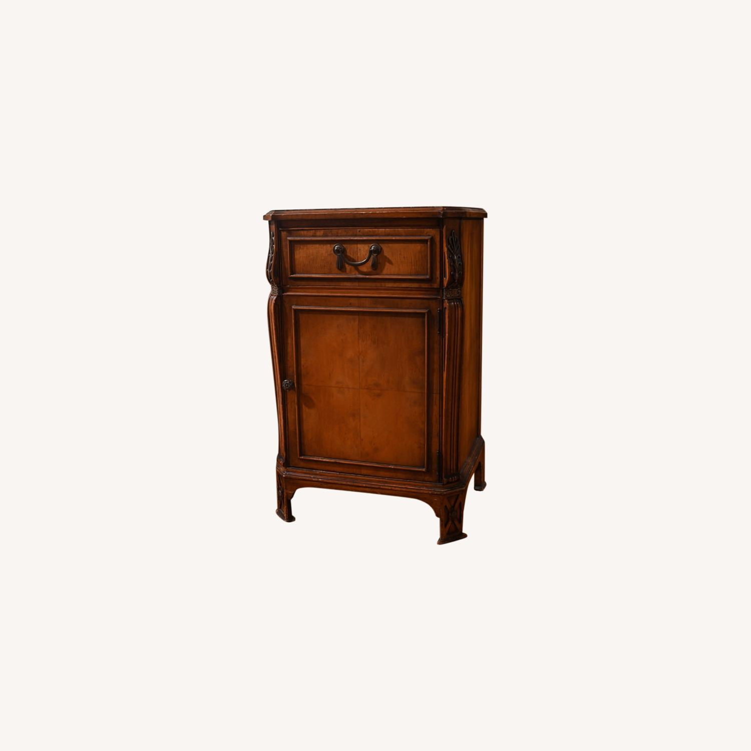 Antique Pear Wood Cabinet - image-0
