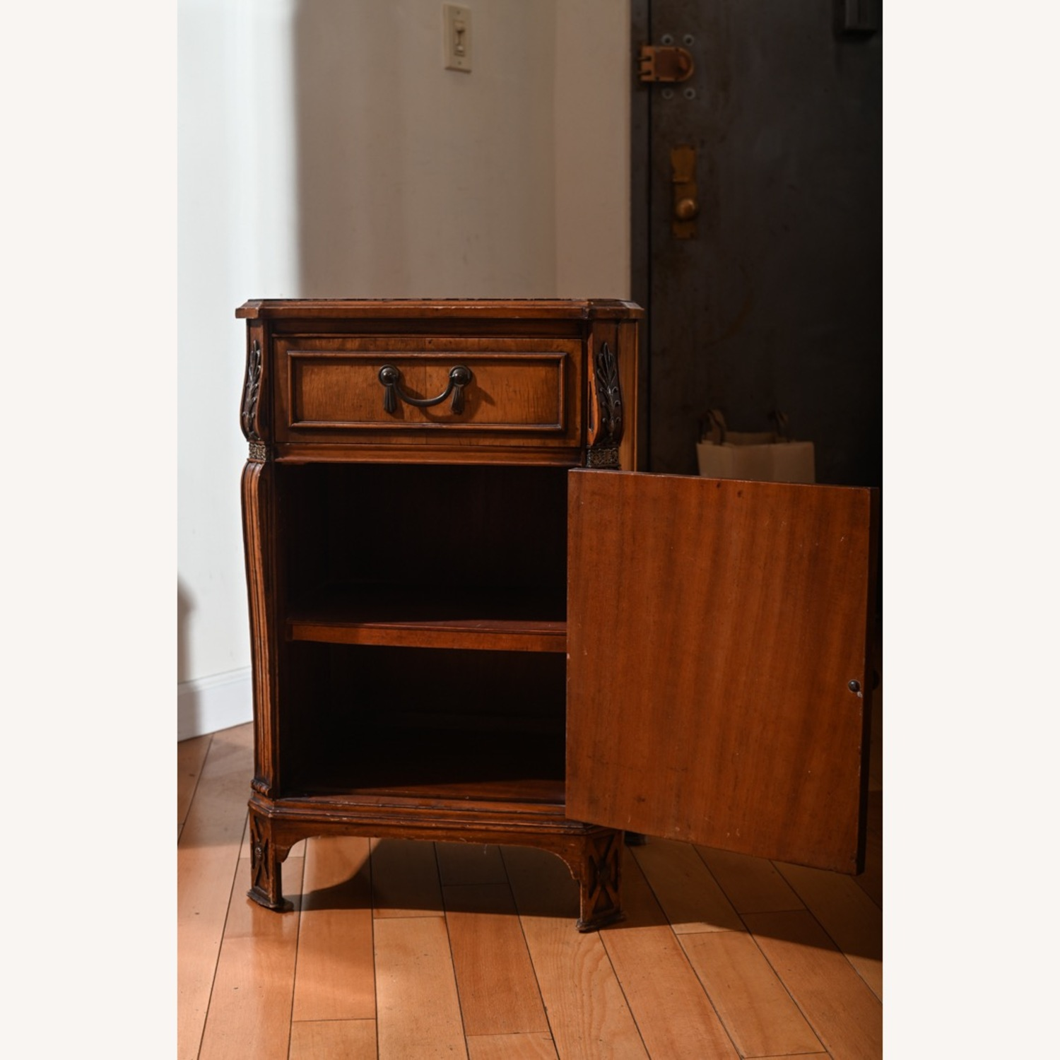 Antique Pear Wood Cabinet - image-5