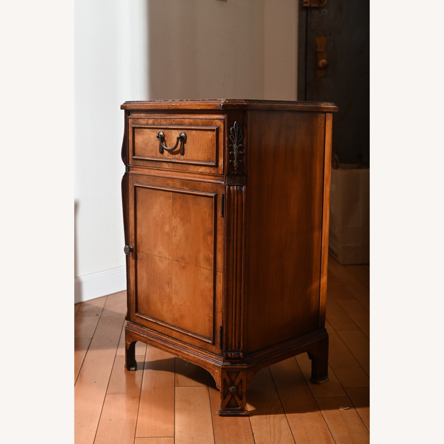 Antique Pear Wood Cabinet - image-2