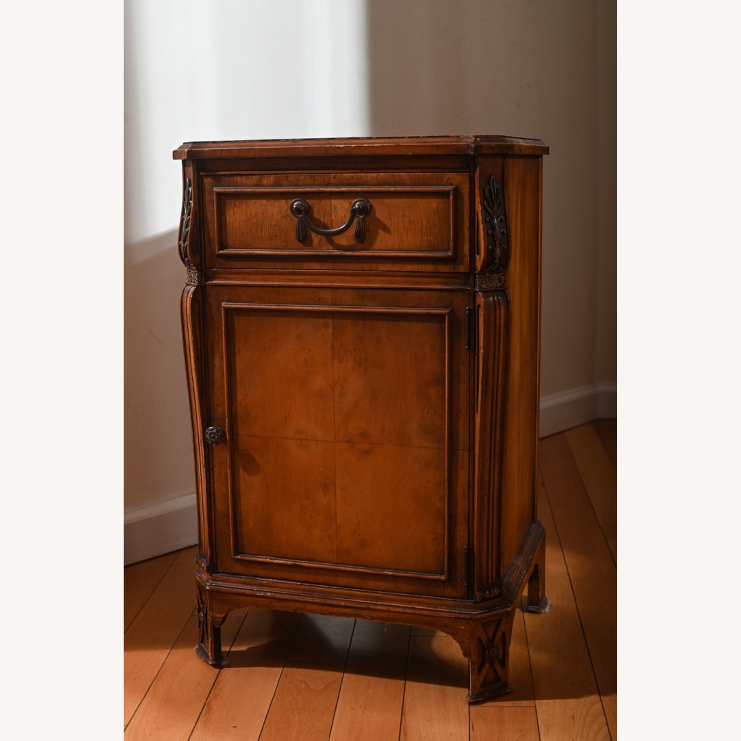 Antique Pear Wood Cabinet - image-1