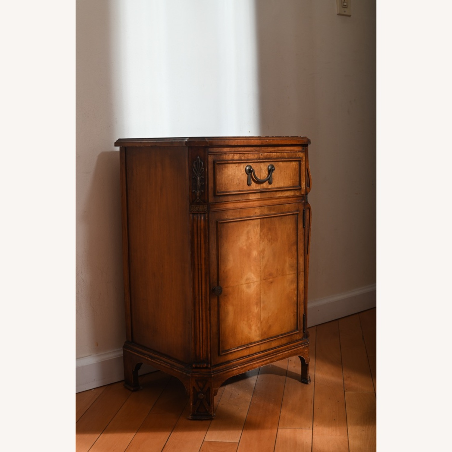 Antique Pear Wood Cabinet - image-3