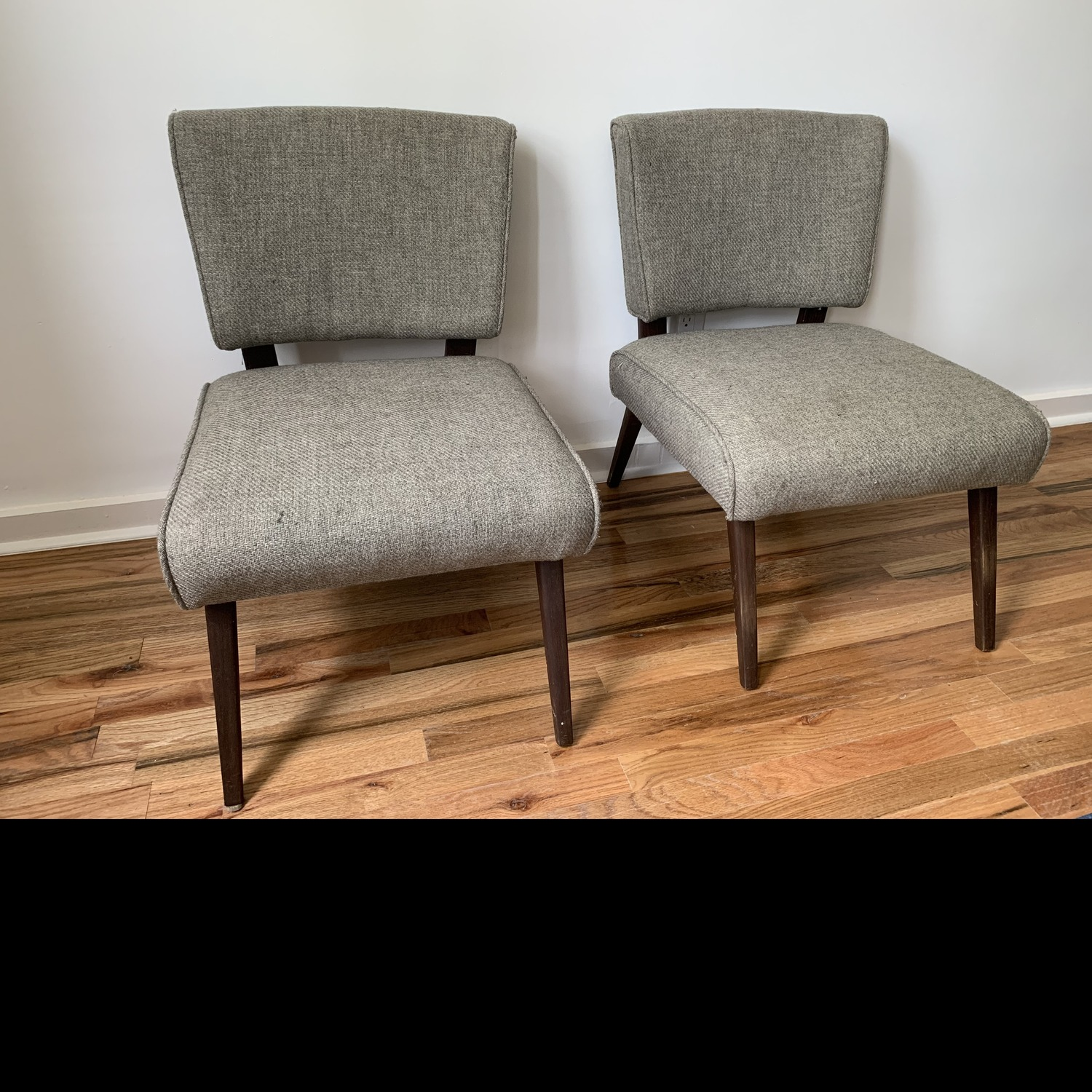 Vintage Mid Century Accent Chairs - image-4