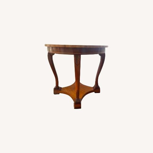 Used Kindel Furniture Neoclassical Lamp Table for sale on AptDeco
