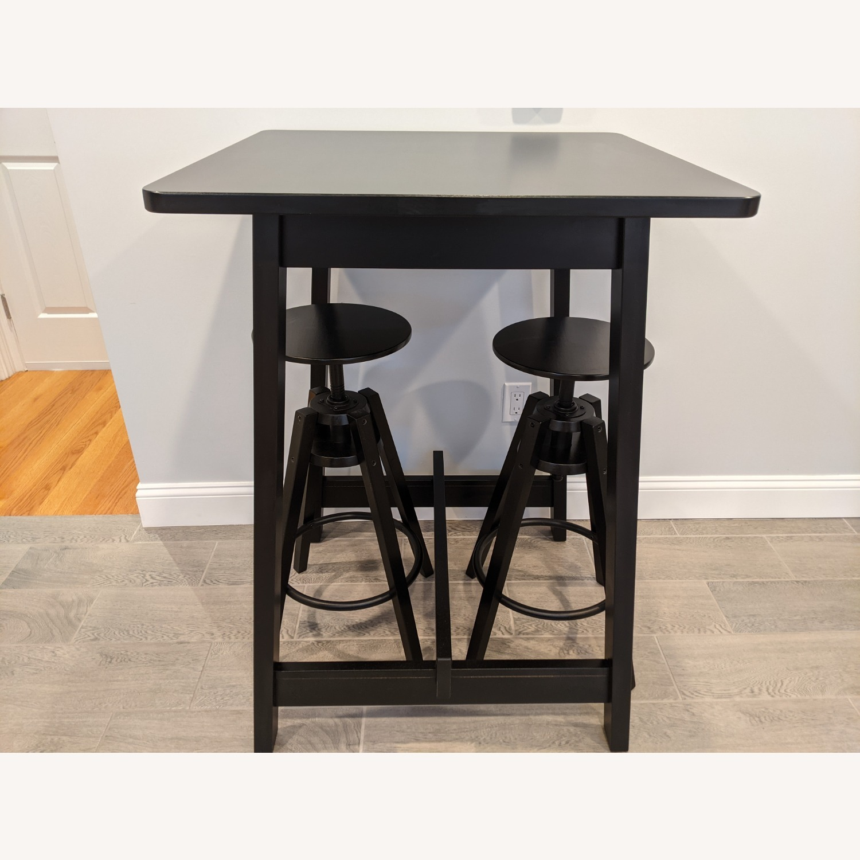 IKEA Black Bar Table - image-1