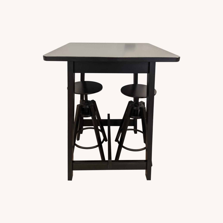 IKEA Black Bar Table - image-8