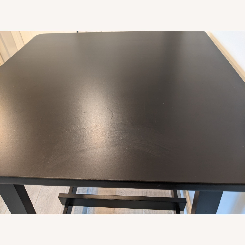 IKEA Black Bar Table - image-3