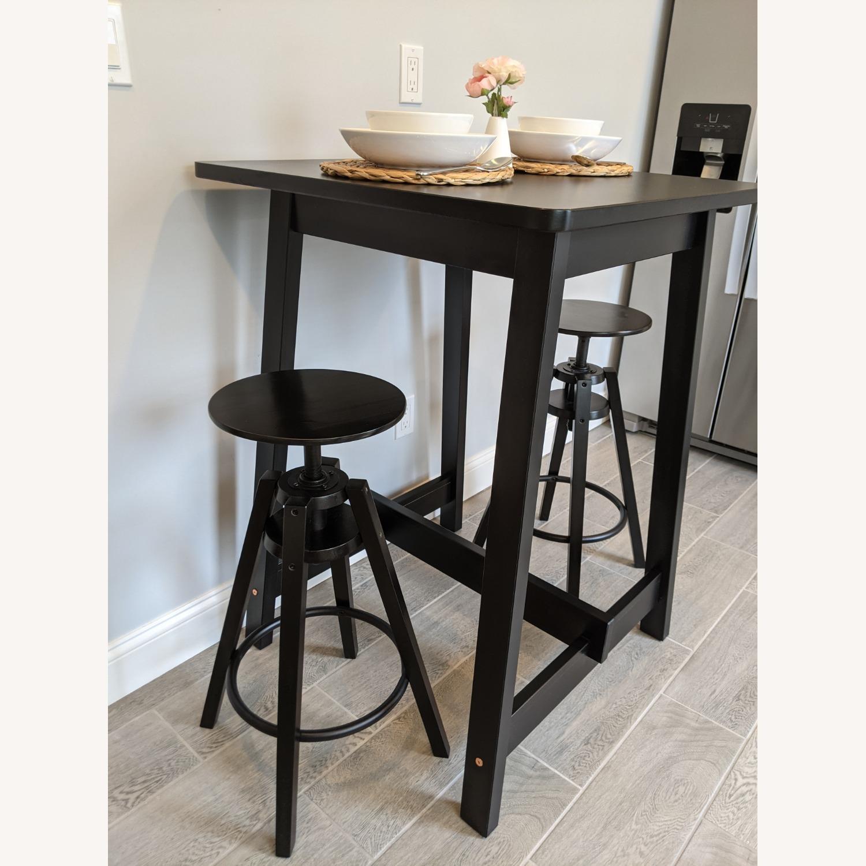 IKEA Black Bar Table - image-9