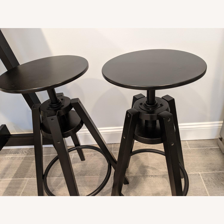 IKEA Black Bar Table - image-6