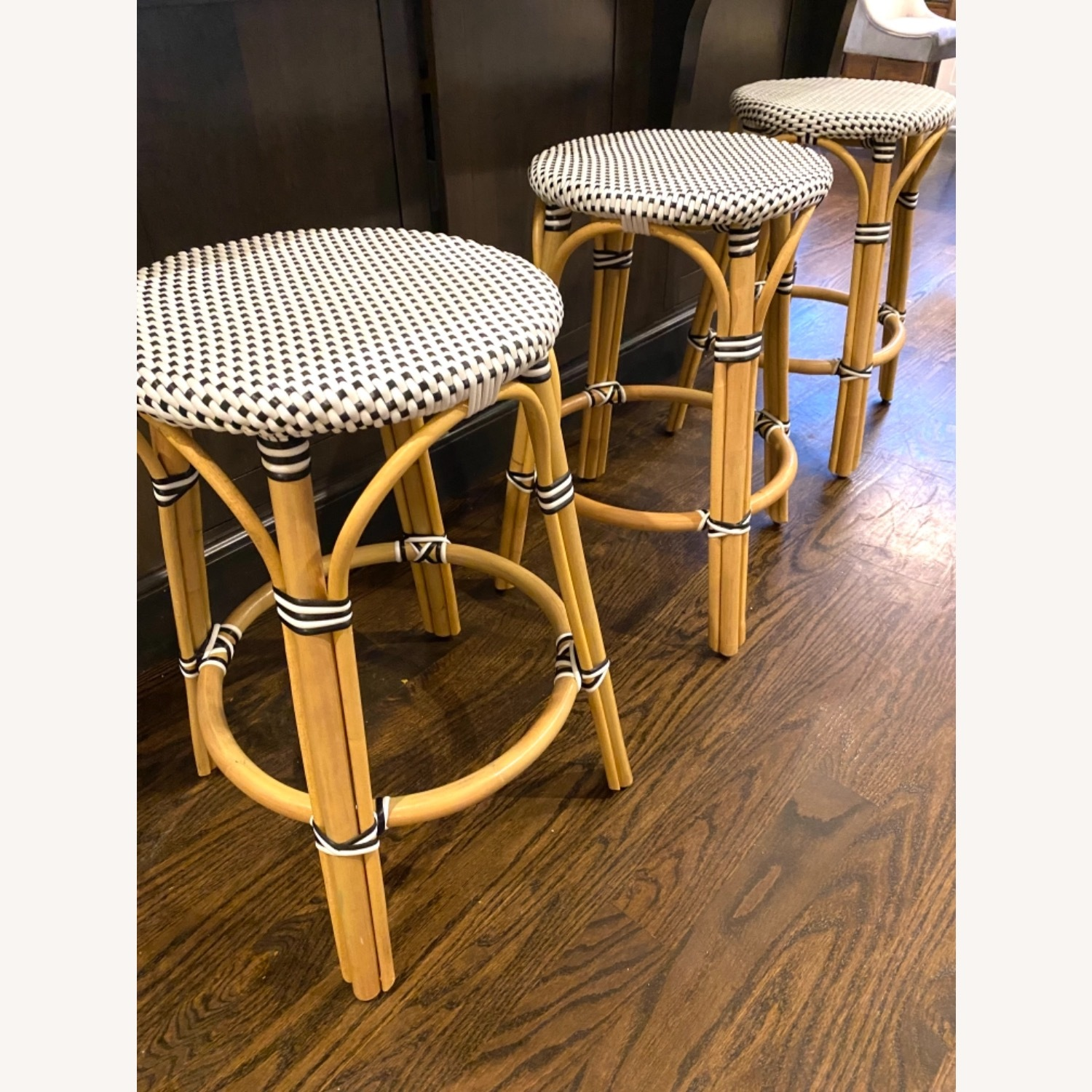 Wayfair (Serena Lily style) Counter Stools - image-2