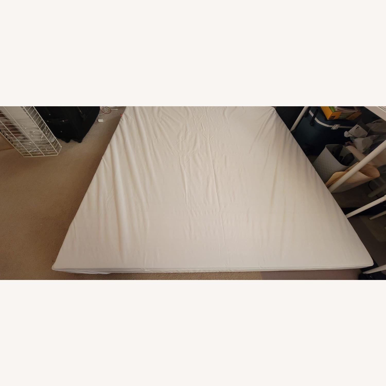 IKEA BRIMNES King Bed Frame with Storage - image-6