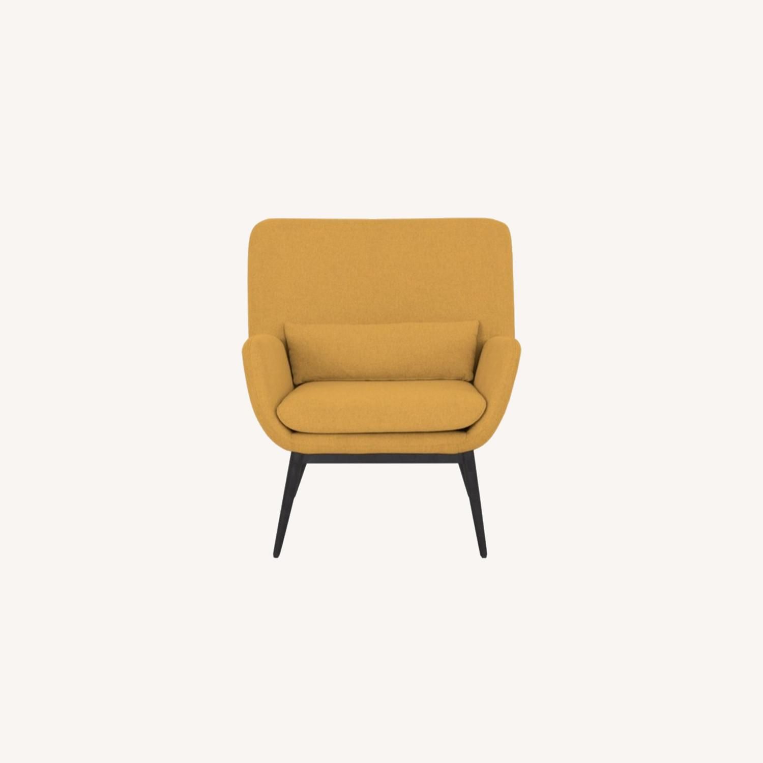 Castlery Cammy Armchair, Canary Yellow - image-0