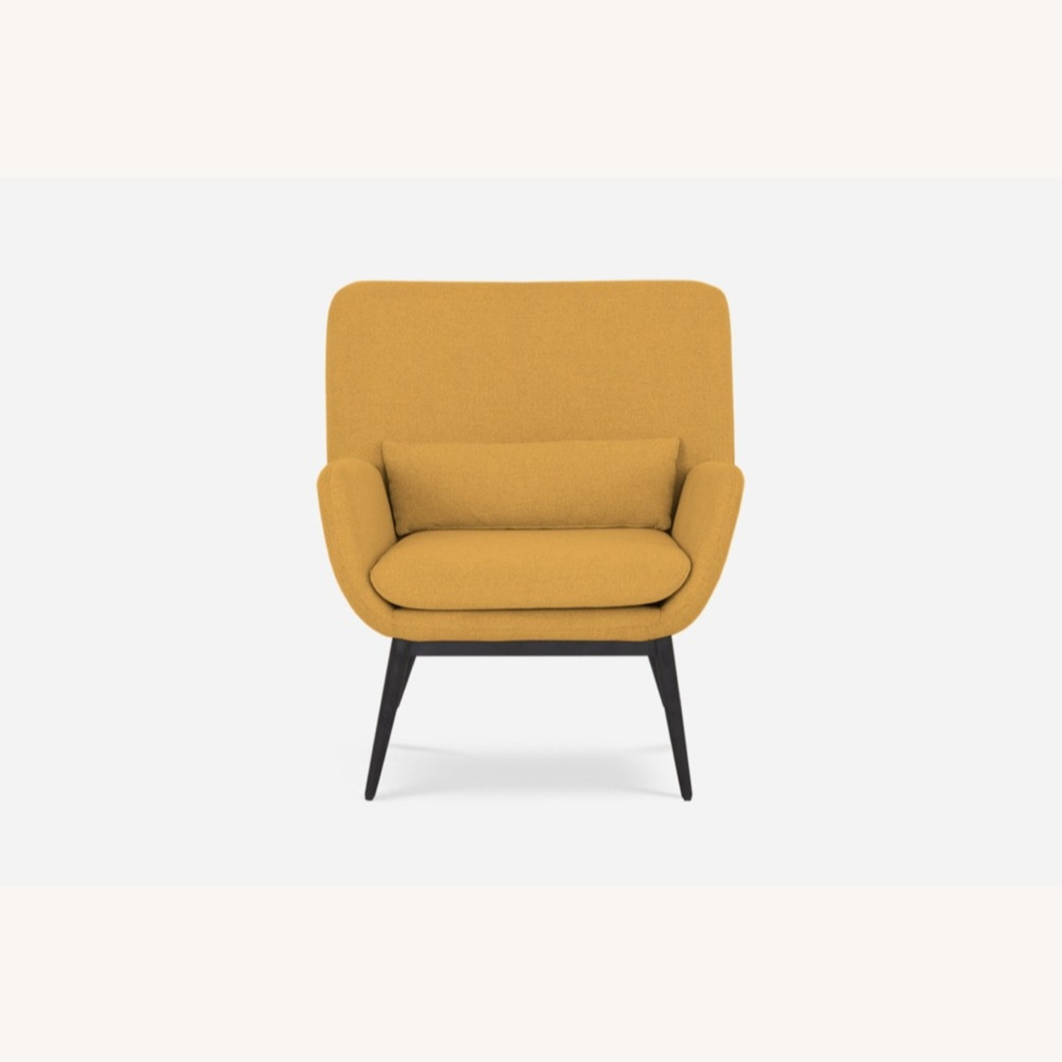 Castlery Cammy Armchair, Canary Yellow - image-3