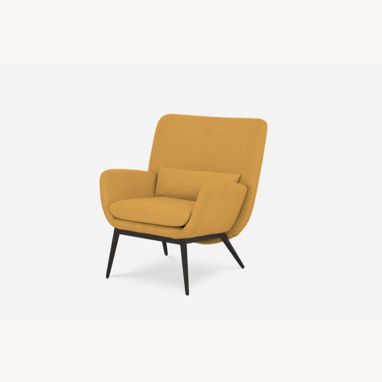 Castlery Cammy Armchair, Canary Yellow - image-2