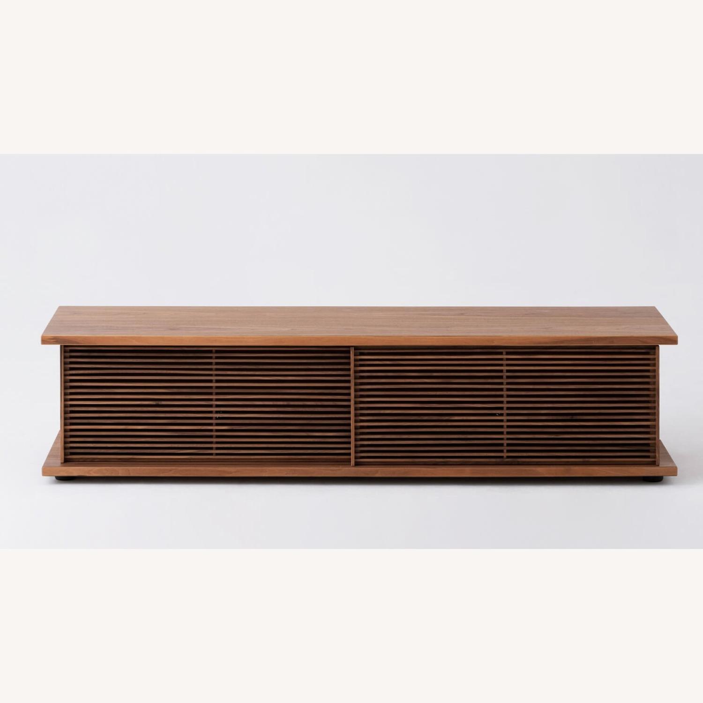 "EQ3 Plank Media Unit 65"" / Plank Door Slat - image-1"