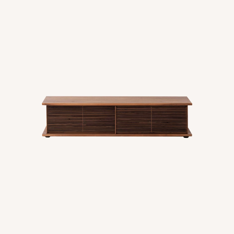 "EQ3 Plank Media Unit 65"" / Plank Door Slat - image-0"