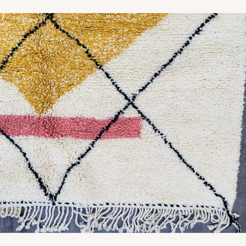 Vintage plush Beni Ourain Moroccan Area Rug - image-4