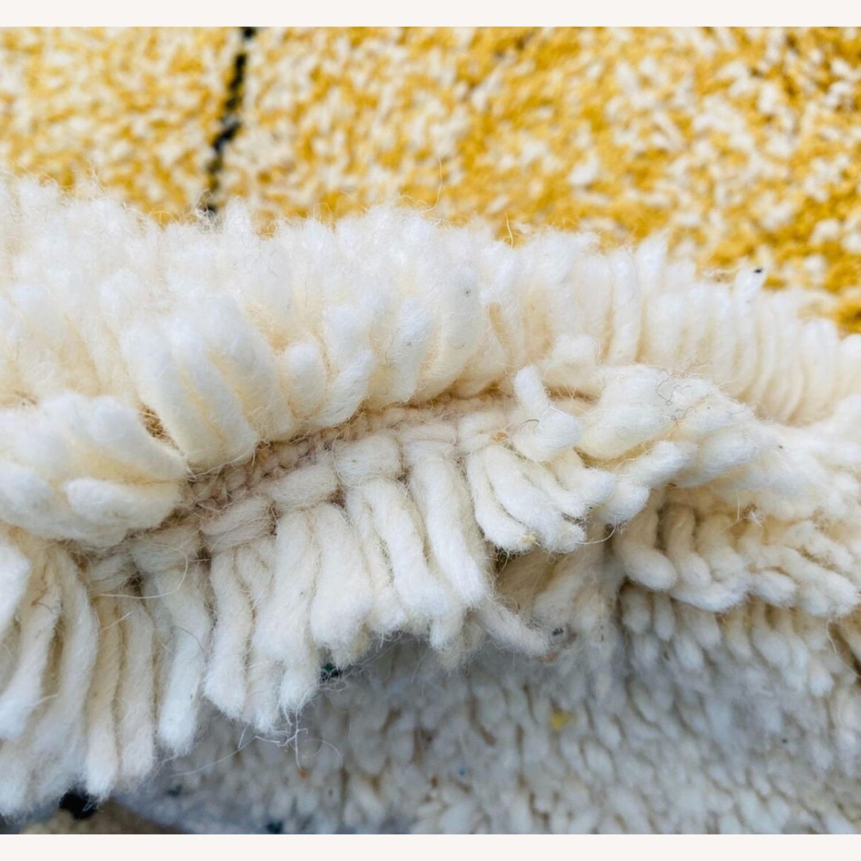 Vintage plush Beni Ourain Moroccan Area Rug - image-5