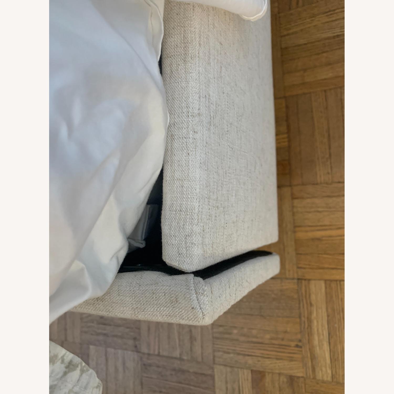 Linen Talc Upholstered Queen Bed - image-4