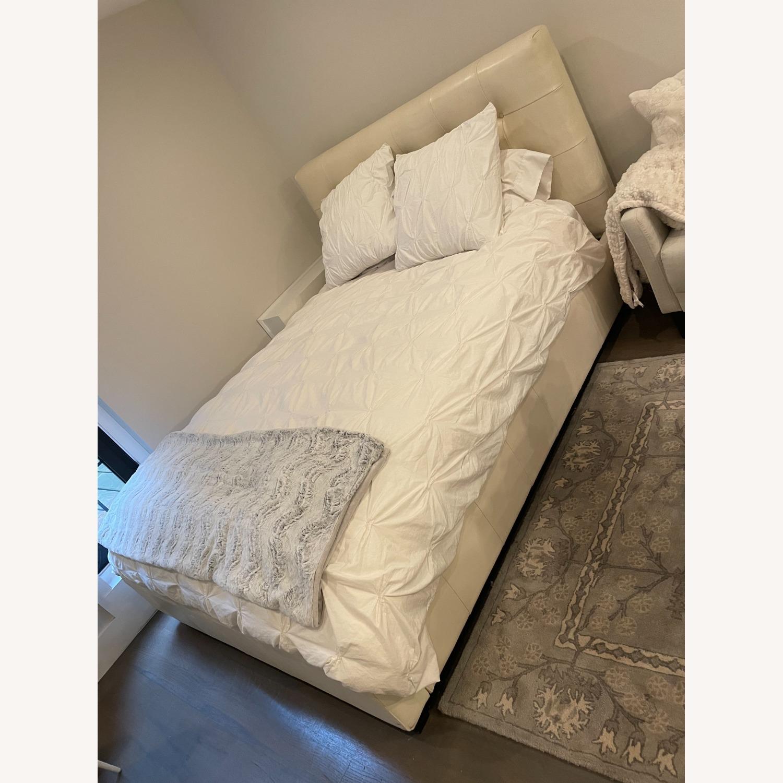 West Elm Queen Storage Bed - image-1