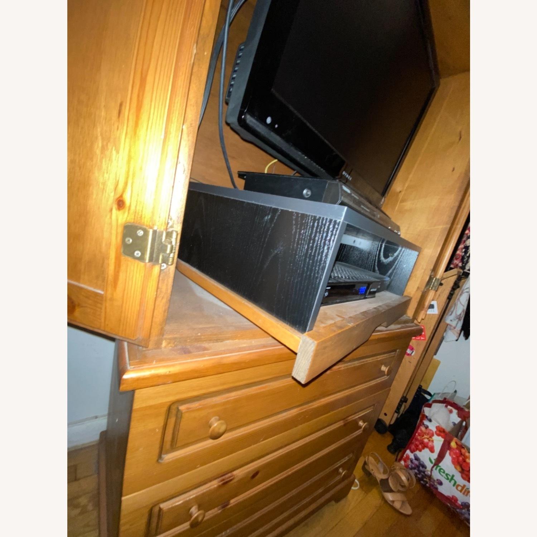 Gothic Cabinet Craft TV Storage w/ Drawers 2 Piece - image-3