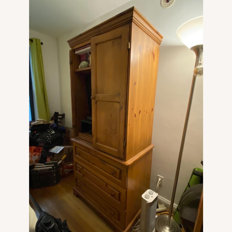 Gothic Cabinet Craft TV Storage w/ Drawers 2 Piece - image-2