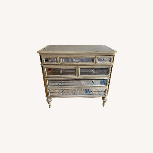 Used Horchow 7 Drawer Mirrored Console for sale on AptDeco