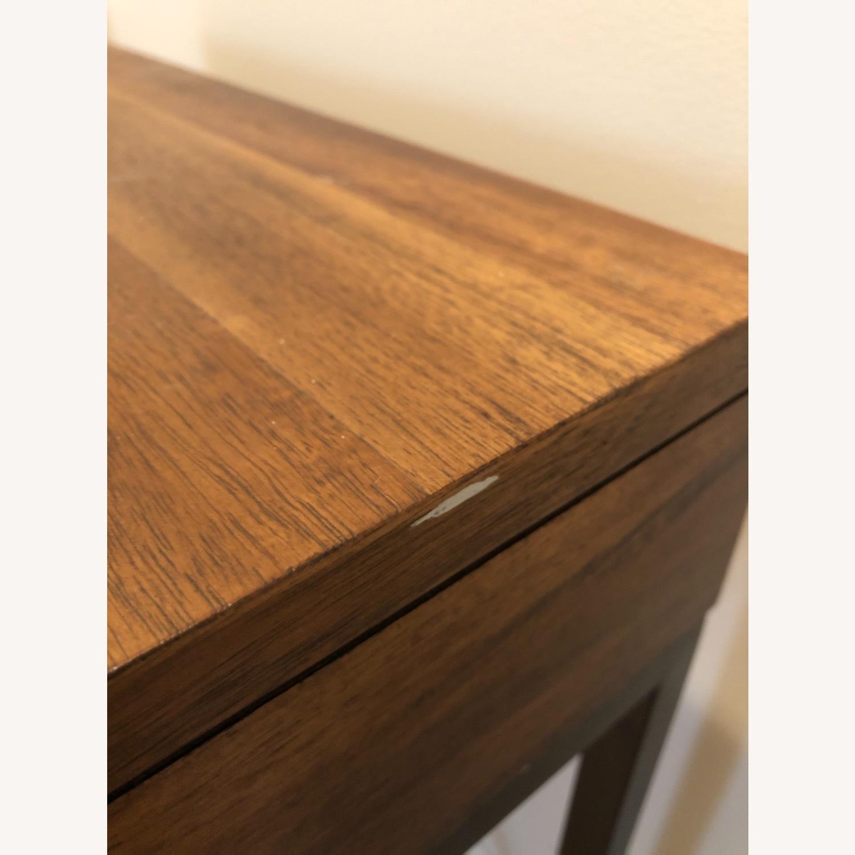 West Elm Narrow Leg End Table - Chocolate - image-6