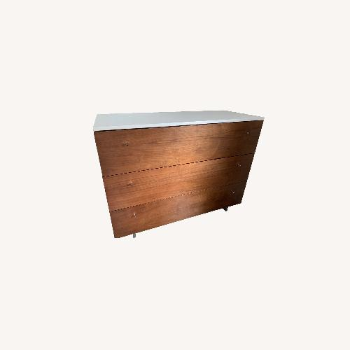 Used Spot On Square Roh Dresser + Changing Tray for sale on AptDeco