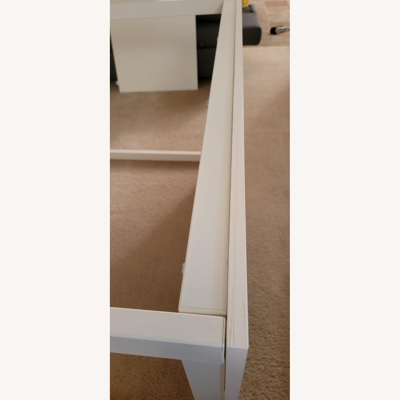 IKEA VANGSTA Extendable Table, White - image-5