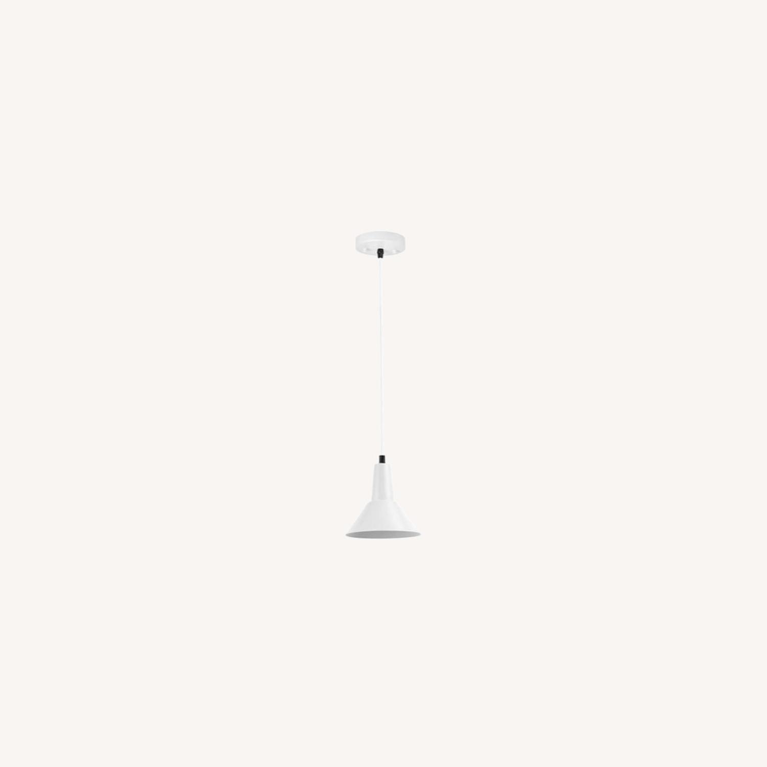 Modern Industrial Hanging Pendant Small Shade - image-0