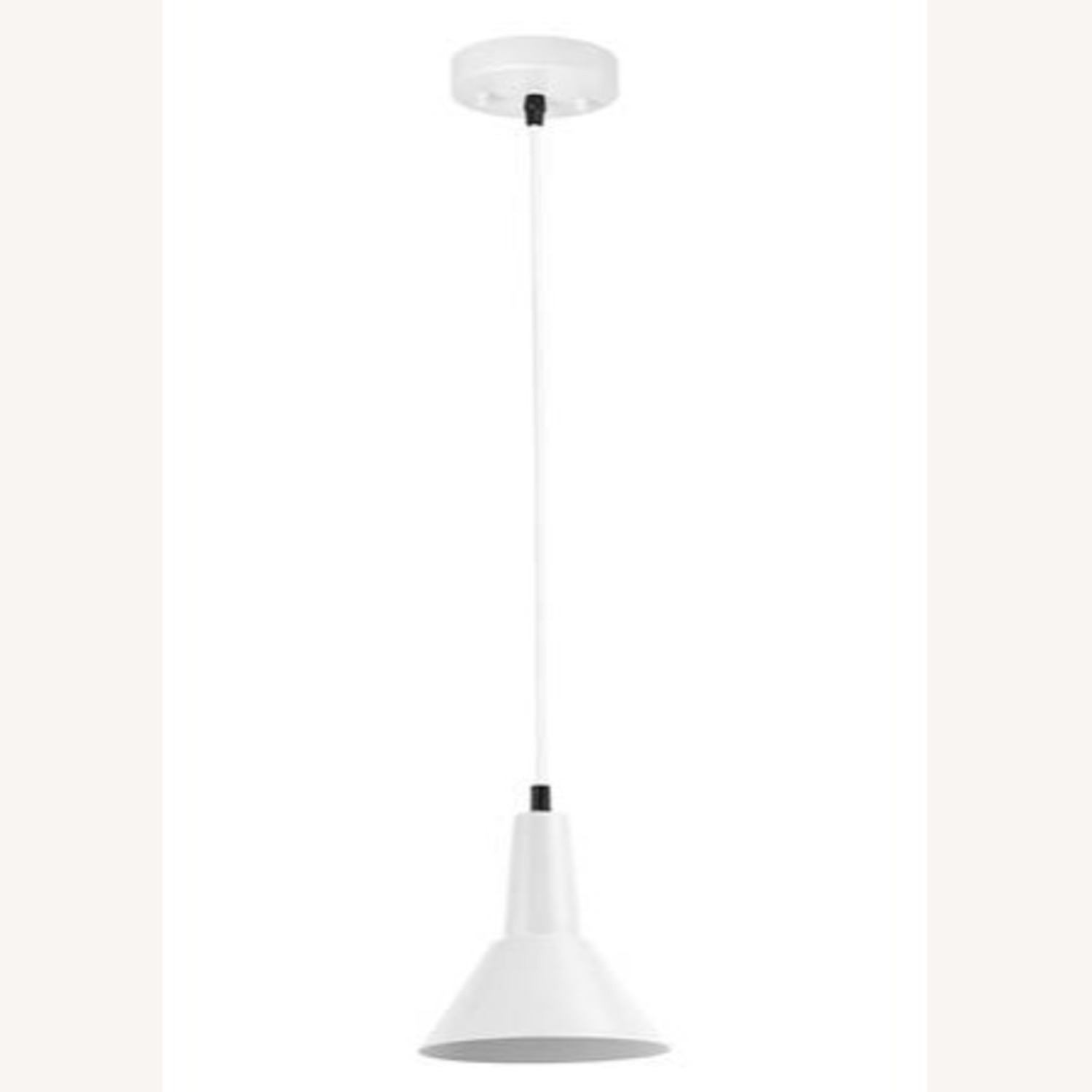 Modern Industrial Hanging Pendant Small Shade - image-4