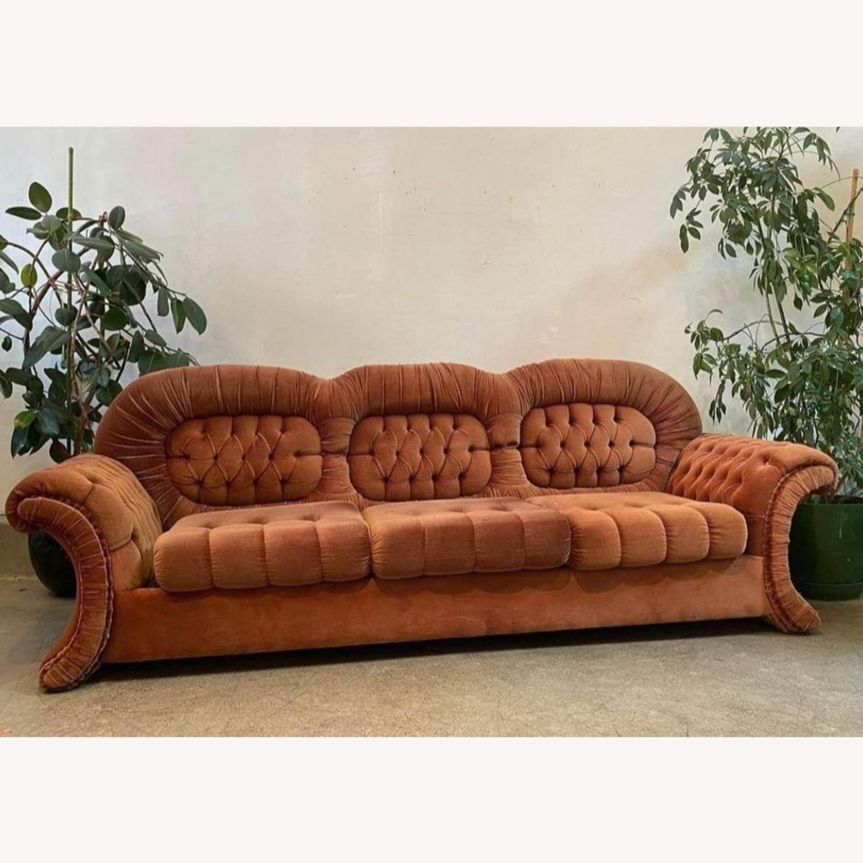 Vintage Velvet Couch - image-2