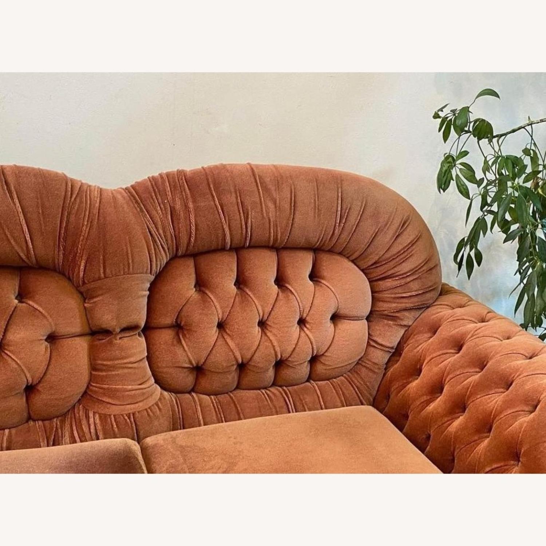 Vintage Velvet Couch - image-4