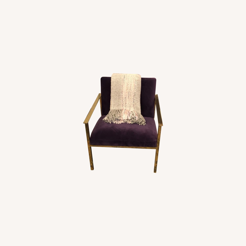 Joybird Purple Accent Chair - image-5