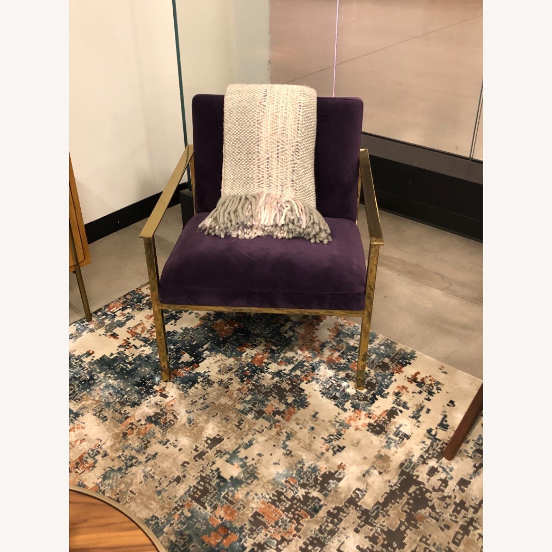 Joybird Purple Accent Chair - image-4