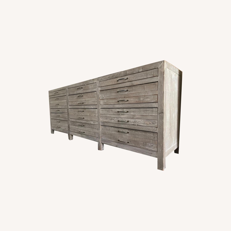 ABC Home & Carpet Oversized Wooden Dresser - image-0