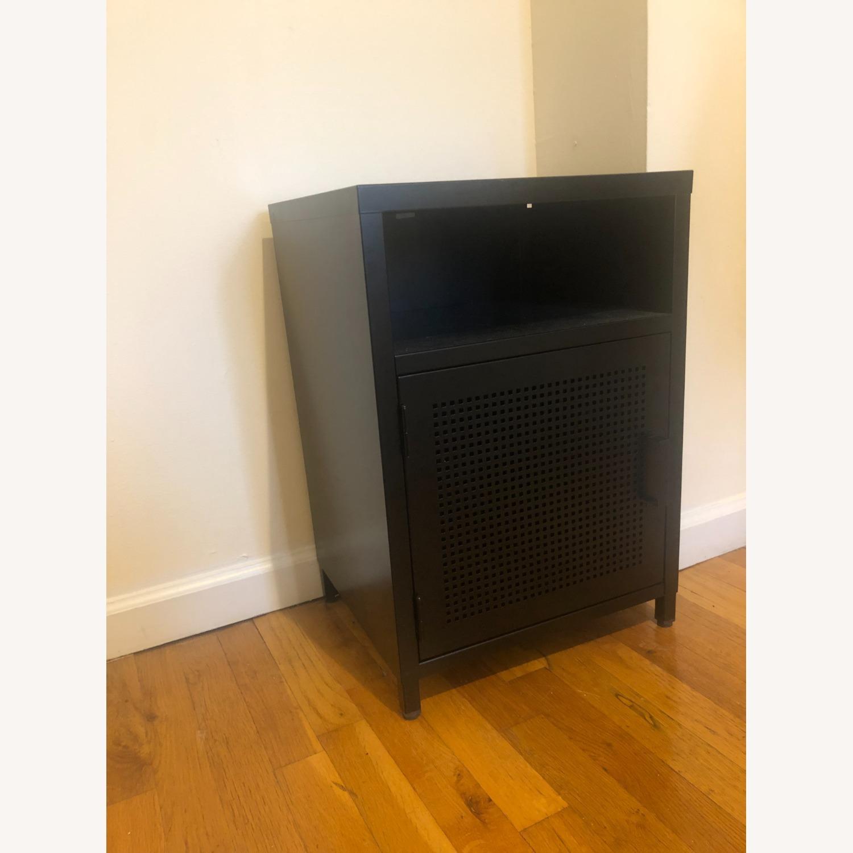 Wayfair Black Metal Cabinet - image-2